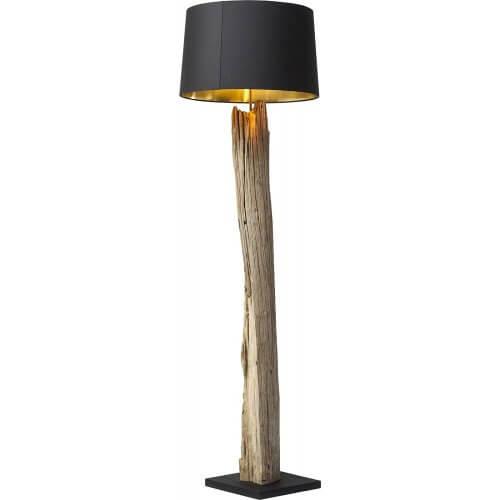 Lampadaire en bois flott la nature dans votre salon - Pied de lampe en bois brut a peindre ...