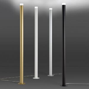 Lampadaire led int rieur alliant design et modernit for Lampadaire interieur led