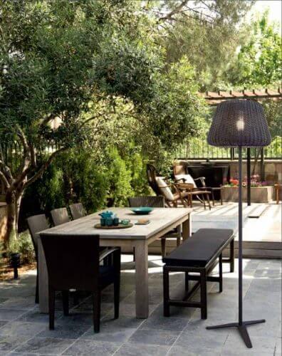 Lampadaire ext rieur design pour terrasse et jardin for Lampadaire exterieur design