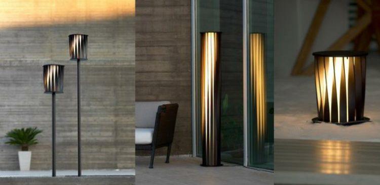 Lampadaire ext rieur design pour terrasse et jardin for Design exterieur terrasse
