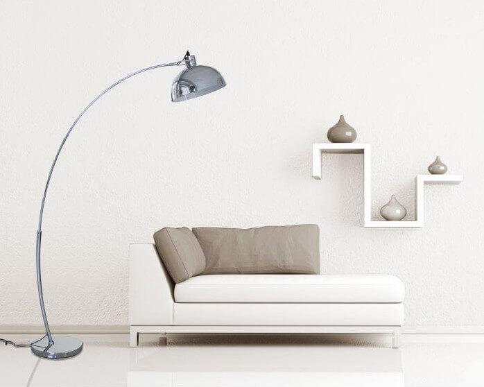 Populaire Lampadaire arc pour salon moderne et illuminé IL18
