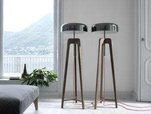 lampadaire design italien pileo