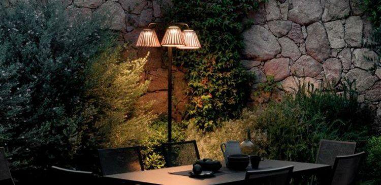 lampadaire ext rieur design pour terrasse et jardin