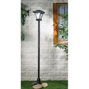 lampadaire exterieur solaire LED