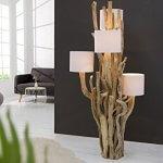 DuNord Design Thuya Schwemmholz massif lin blanc