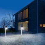 Lampadaire solaire Steinel XSolar GL-S Blanc LED